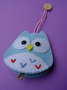 Owl with Coookie button on top | Flickr - Photo Sharing!