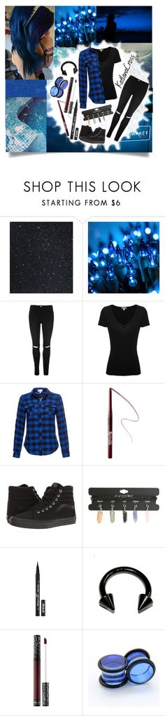 """""""""""Don't leave me out to dry. With me it's do or die. Don't roll the dice with me, you won't win. My luck is looking down"""""""" by katlanacross ❤ liked on Polyvore featuring Therapy, James Perse, Kat Von D and Vans"""