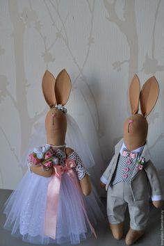 Купить Свадебные зайцы. Подарок на свадьбу. Фотосессия. - свадьба, свадебная…