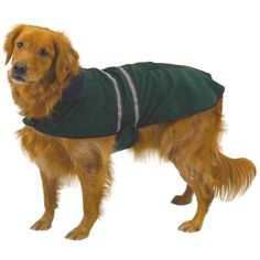 OCSOSO Pet Dog Reflective Jacket XL Hunter Green