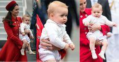 Il Principe George in Nuova Zelanda con Kate Middleton e William. Dettagli sul suo look
