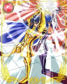 Card Sea Dragon Kanon   Gemini Saga