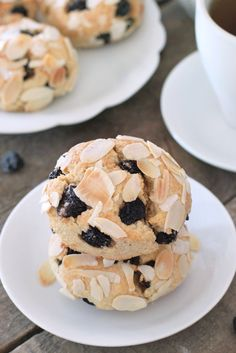 Gluten-Free Blueberry Scones are delicious for breakfast or a midday snack.  You'll love these!
