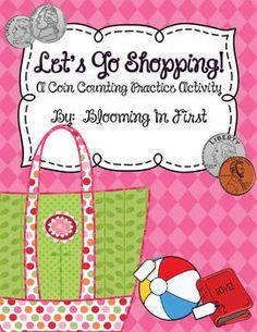 Let's Go Shopping!  Freebie
