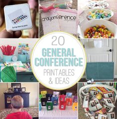 20 General Conference Activities for Kids