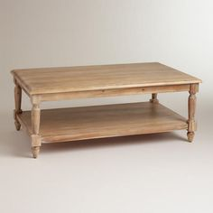 We just ordered a coffee table!  I'M SO EXCITED!  GROWN UP THINGS! WorldMarket.com: Everett Coffee Table