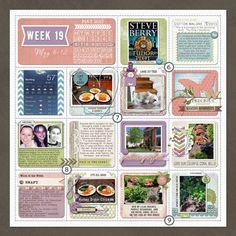 Project Life Week 19 Left from Delisak at DesignerDigitals.com