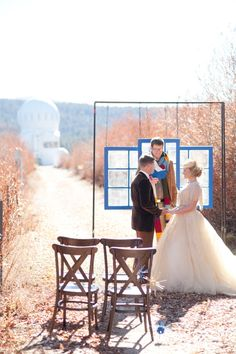 """A DOCTOR WHO INSPIRED WEDDING THROUGH ALL OF TIME AND SPACE. Bride and groom didn't want their Dr. Who wedding references to be obvious, so hid """"Easter Eggs"""" throughout the ceremony and reception for astute guests to identify as many as possible!"""