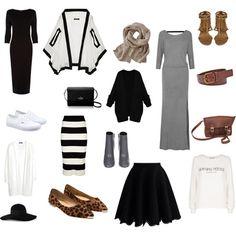 Modest + Travel-Friendly Capsule Wardrobe on @ShesIntentional