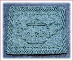 teapot dishcloth