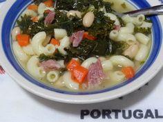 Sopa de Feijao com Presunto - White Bean Pasta and Ham Bone Soup recipe from Tia Maria's blog