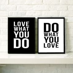AZQSD Art Print Poster Minimalist Black White Motivational Love Quotes Vintage Picture Canvas Painting Wall Home Decor PP059