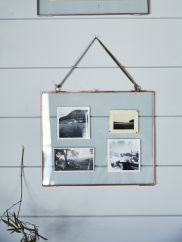Delicate Landscape Frame - Copper. I LOVE copper!!