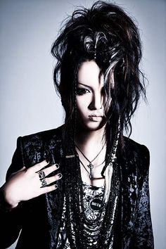 Nocturnal Bloodlusts new guitarist, Daichi, I haven't listened to any of his music yet, but I am excited to see what direction NBL's music takes with twin guitars :D