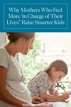 According to one new study, pregnant women who feel more in charge of their lives are more likely to raise smarter kids. Kids And Parenting, Parenting Hacks, Problem Solving Skills, 90s Kids, Early Childhood, Raising, Psychology, Study, Science