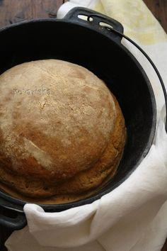 Греческий домашний хлеб на пиве