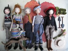 Gardening dolls | Flickr: Intercambio de fotos