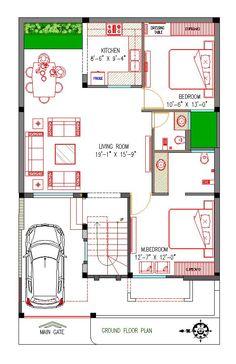 Bestie floor plan room kitchen c 2bhk House Plan, Model House Plan, Duplex House Plans, House Layout Plans, Duplex House Design, Family House Plans, Luxury House Plans, Dream House Plans, Small House Plans