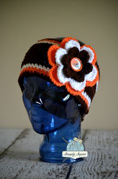 promo code 3fb38 83a80 NEW Cleveland Browns inspired slouchy beanie in the shop! 2 available Ready  To Ship!