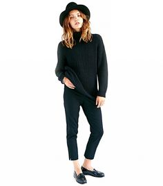 The Fall Trend That's Cooler Than Denim-on-Denim - knit-on-knit ensembles