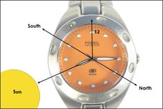 4 Steps For Determining Direction With Your Watch