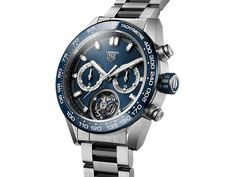 TAG Heuer - Carrera Calibre Heuer 02T COSC Blue | Time and Watches | The watch blog Tourbillon, Casio Watch, Rolex Watches, Bracelets, Tags, Tag Heuer Carrera Calibre, Watch Blog, Sport Watches, Accessories
