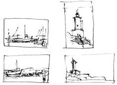 "Use thumbnail sketches to explore your ideas and compositions! ""Just hope you don't run out of thumbs! KB"