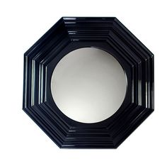 The Lenox wall mirror, handcrafted by Boca do Lobo Studio is a stylish piece that adds glamour and class to any room. The hexagonal frame of this round mirror is made from either oak or mahogany wood. Wall Mirror With Shelf, Silver Wall Mirror, Mirror House, Convex Mirror, Round Wall Mirror, Mirror Set, Mirror Ideas, Classic Wall Mirrors, Rustic Wall Mirrors