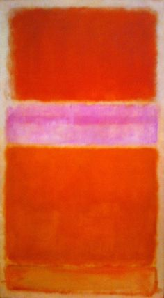 Mark Rothko, Untitled, Orange on Red, 1956 © 1998 Kate Rothko Prizel & Christopher Rothko/Artists Rights Society Mark Rothko Paintings, Rothko Art, Abstract Painters, Abstract Art, Orange Art, Diy Wall Art, Barnett Newman, Contemporary Paintings, Art History