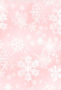 Rose quartz snowflakes