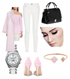 """""""Pretty In Pink!"""" by princessdewberry on Polyvore featuring Vince Camuto, Proenza Schouler, Allurez, Gianvito Rossi, Miu Miu, Michael Kors and Paul Smith"""