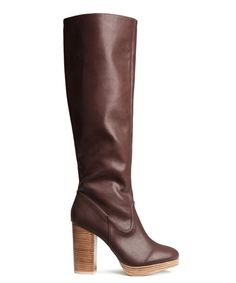 Knee-High Fall Boots - Footwear Trends 2014 | Refinery29 rounds up 30 pairs of knee-high boots for fall 2014. #refinery29 http://www.refinery29.com/knee-high-boots-fall-2014