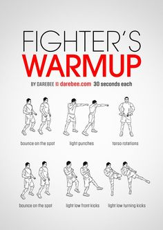 Fighter's Warmup workout.