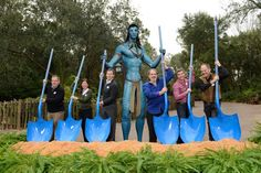 How exciting! Avatar land construction began today at Walt Disney World, bringing the world of Pandora to Disney's Animal Kingdom! I am just not excited about this. So disappointed that they scrapped the magical creatures for this. Disney World Vacation, Disney World Resorts, Disney Vacations, Disney Trips, Disney Destinations, Orlando Vacation, Disney Animal Kingdom, Walt Disney Parks, Downtown Disney