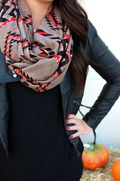 Aztec Infinity Scarf | uoionline.com: Women's Clothing Boutique