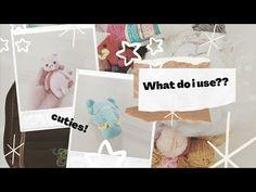 Basic Amigurumi Materials I Use - YouTube Youtube, Amigurumi, Youtubers, Youtube Movies