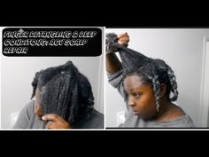 Today i have a deep conditioning video for you, i use apple cider vinegar and condition and multple oils to put moi. Deep Conditioner, Apple Cider Vinegar, My Hair, Routine, Natural Hair Styles, Dreadlocks, Beauty, Apple Vinegar, Cider Vinegar