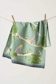 Tree-Dwelling Dishtowel - these are too cute