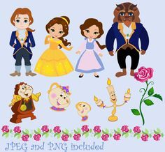 82 Awesome disney princess digital clipart