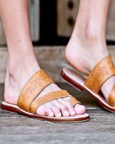 Tallulah Bohemian Sandals - Tan