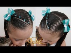 Natural Hair Braids, Natural Hair Styles, Girl Hair Dos, Little Girl Hairstyles, Braided Hairstyles, Diana, Little Girls, Children, Youtube