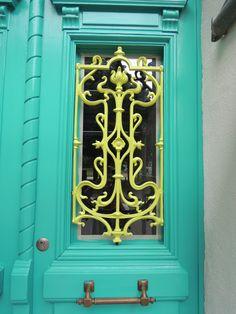 my door inspired by pinterest :)