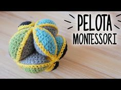 Learn how to crochet these neat puzzle balls! These are a great one-evening crochet project and make great gifts and are also a great stash buster. Marque-pages Au Crochet, Chat Crochet, Crochet Ball, Crochet Baby Cocoon, Crochet Amigurumi, Single Crochet Stitch, Crochet Pillow, Crochet Toys, Free Crochet