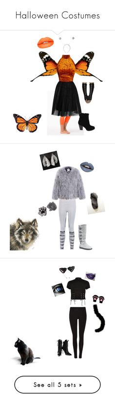 """Halloween Costumes"" by naeski89 ❤ liked on Polyvore featuring art"