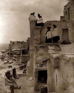 Indian Pueblo Housetops