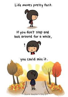 chibird: Life really does move fast… don't forget to enjoy it. Happy November. <3
