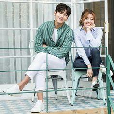 Korean Actresses, Asian Actors, Korean Actors, Actors & Actresses, Korean Dramas, Suspicious Partner Kdrama, Doodle On Photo, Ji Chang Wook, Best Couple