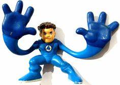 "RARE Marvel Super Hero Squad Fantastic 4 Four Mr Fantastic Big Hands 2"" Figure | eBay"