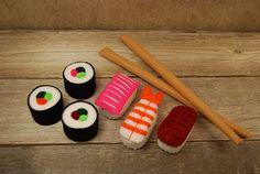 Felt food sushi set
