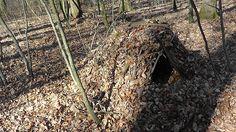 Debris Hut / Survival Shelter / Unterkunft bauen / Survival Training Sch...
